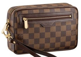 Барсетка мужская Louis Vuitton Damier Ebene Canvas Macao Clutch N61739