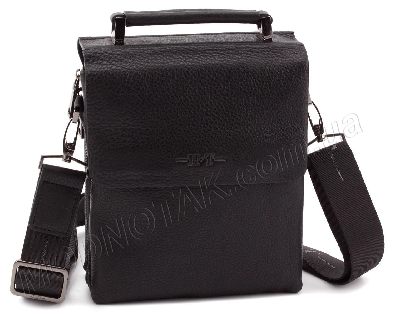 bf0a070dd070 Мужская универсальная кожаная сумка на плечевом ремне и с ручкой – H.T.  Leather Bag Collection (
