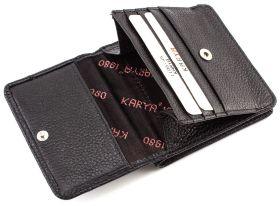 27270f15195c Черный лаковый кошелек небольшого размера ST Leather (16330) купить ...