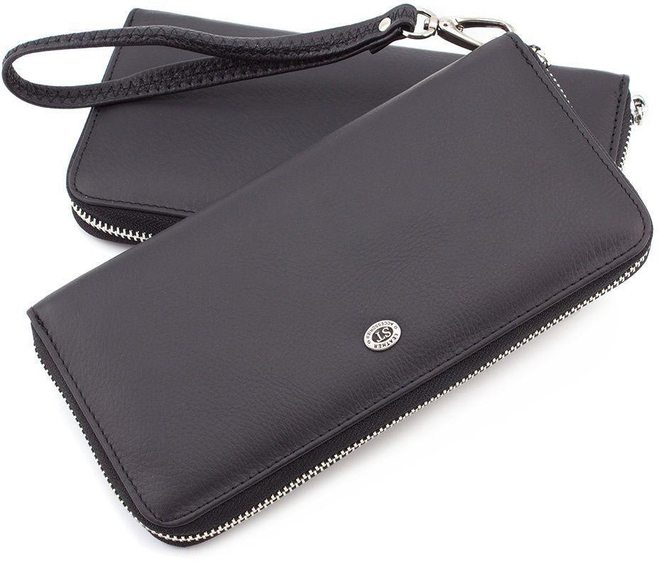 fdb9645c5576 Мужской кожаный кошелек-клатч на молнии ST Leather (18825) купить в ...