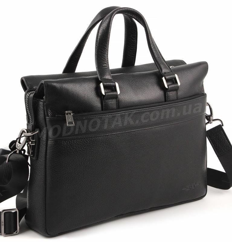 dbfb25b5ca70 Вместительная кожная мужская сумка под документы и ноутбук 13-15 дюймов -  H.T Leather Premium Collection (10170)