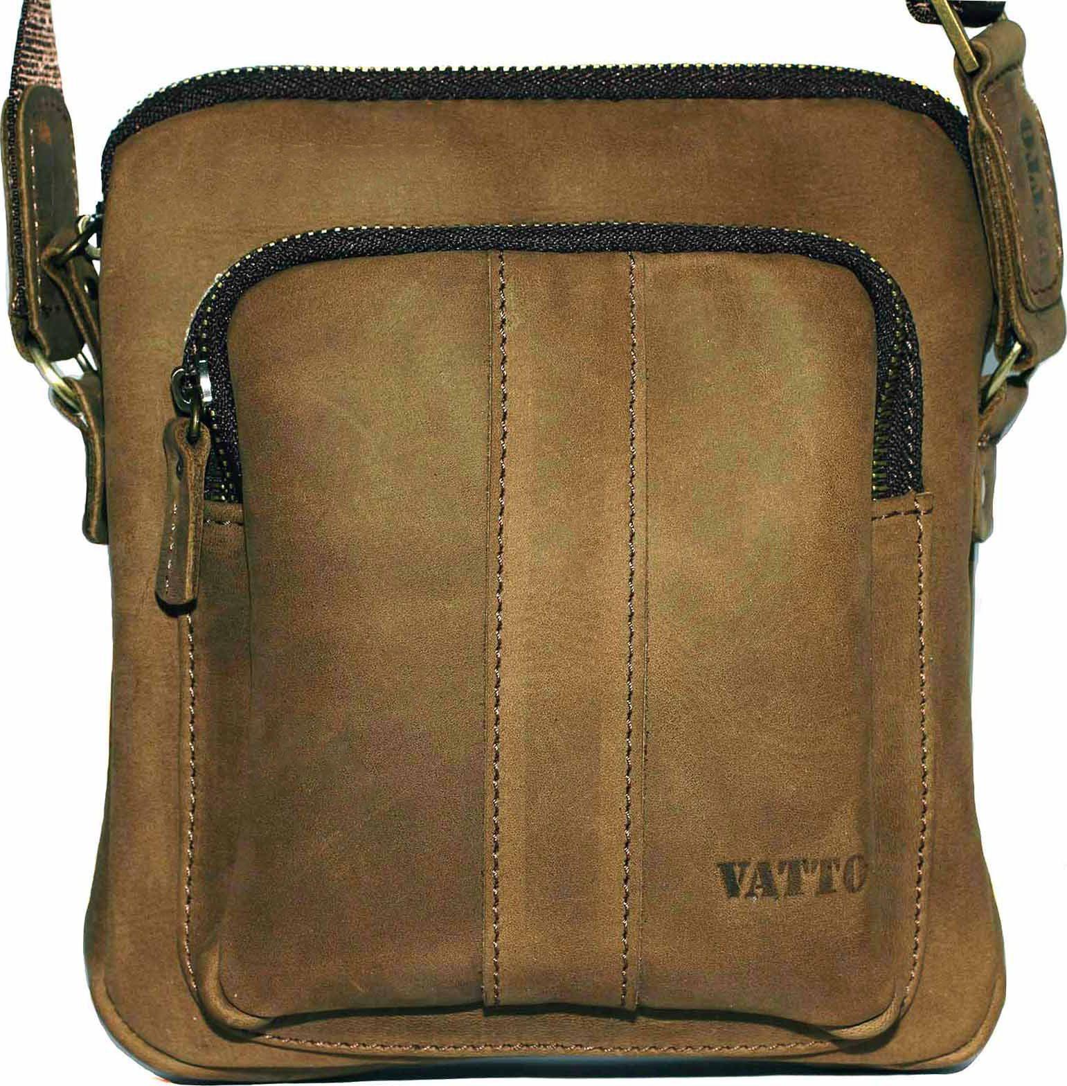fc67f5190079 Маленькая мужская сумка из винтажной кожи VATTO (12091) купить в ...