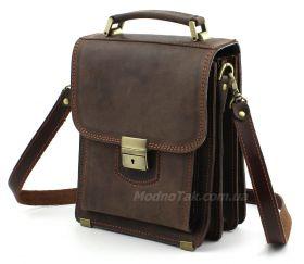 3ce8631a0fc2 Эксклюзивная мужская сумка из натуральной итальянской кожи Crazy Horse –  Старинная Италия (10165)