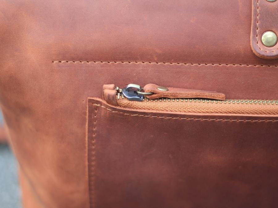 5c91bfd567e4 Кожаная дорожная сумка ручной работы SB1995 (10-907165) купить в ...