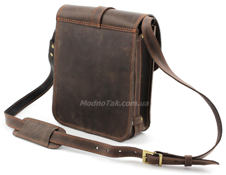 a776137712c9 Элитная винтажная мужская сумка из итальянской кожи Crazy Horse –  «Старинная Италия» (10009