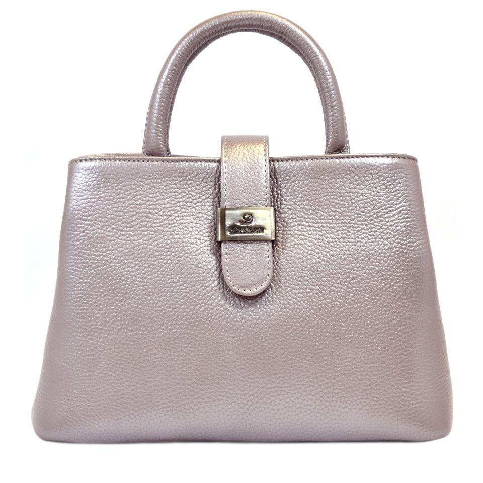 98494e578ec7 Кожаная женская сумка с ручками турецкого бренда Desisan (28302 ...