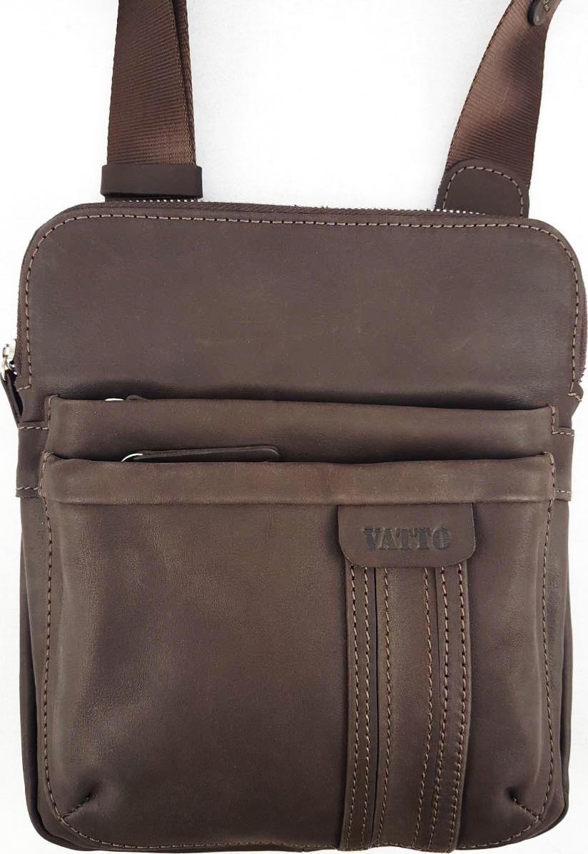 a8f5a06e1369 Мужская сумка коричневого цвета VATTO (11698) купить в Киеве, цена ...