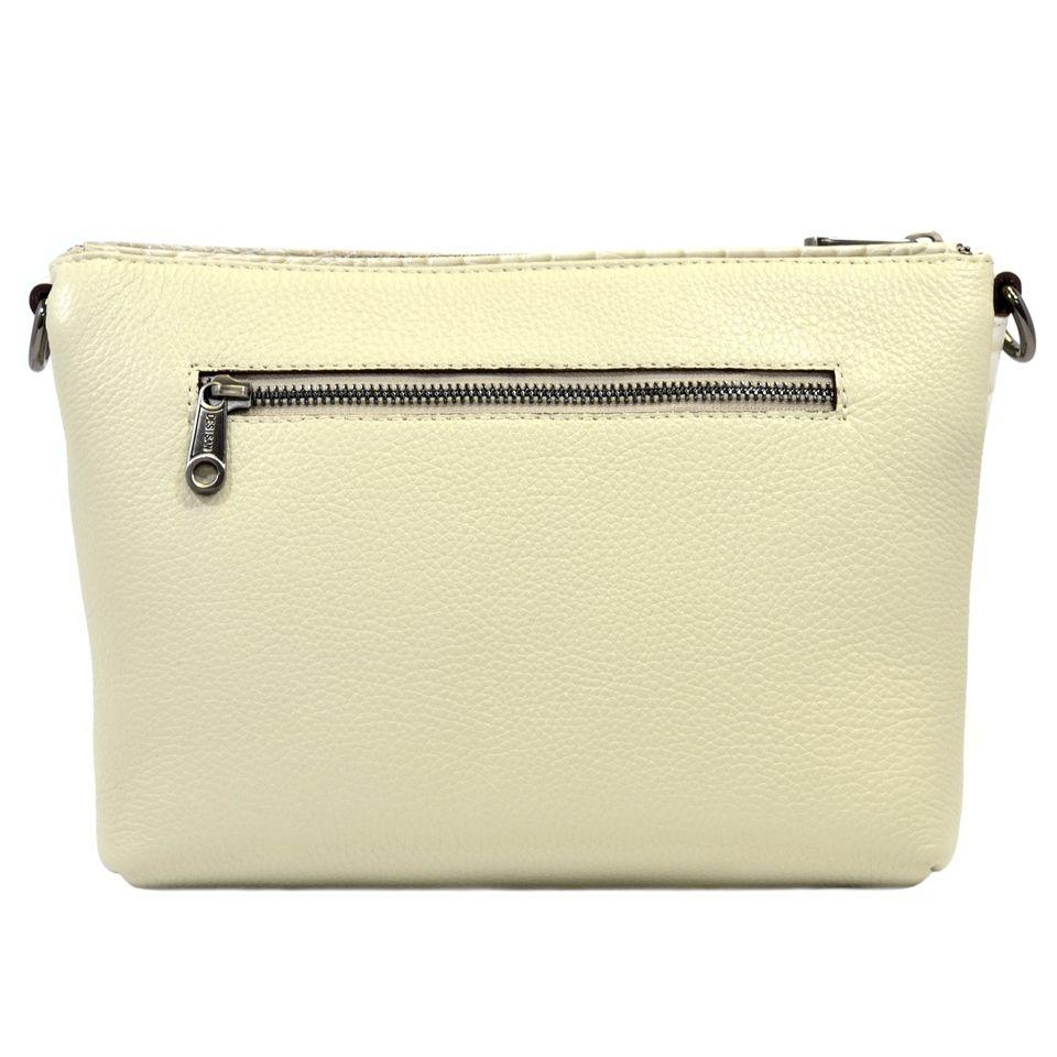a57c694ac8e9 Светлая женская кожаная сумка на молнии Desisan (28306) купить в ...