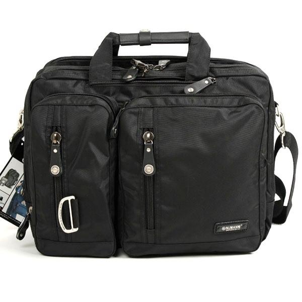 Мужская сумка-рюкзак numanni 356 черная универсальный бюджетный рюкзак
