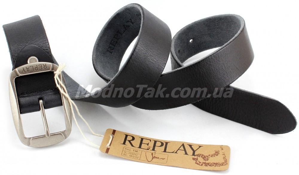 Ремень мужской replay ремень кожаный купить в одессе
