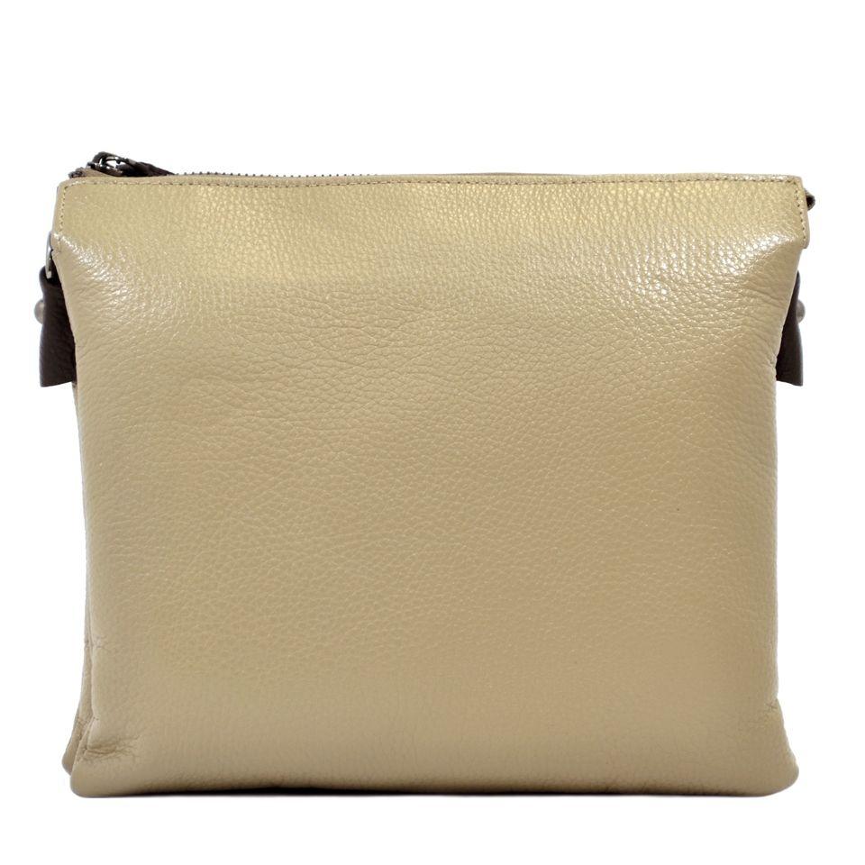 94016e18f8b4 Женская бежевая сумка из натуральной кожи Desisan (28402) купить в ...