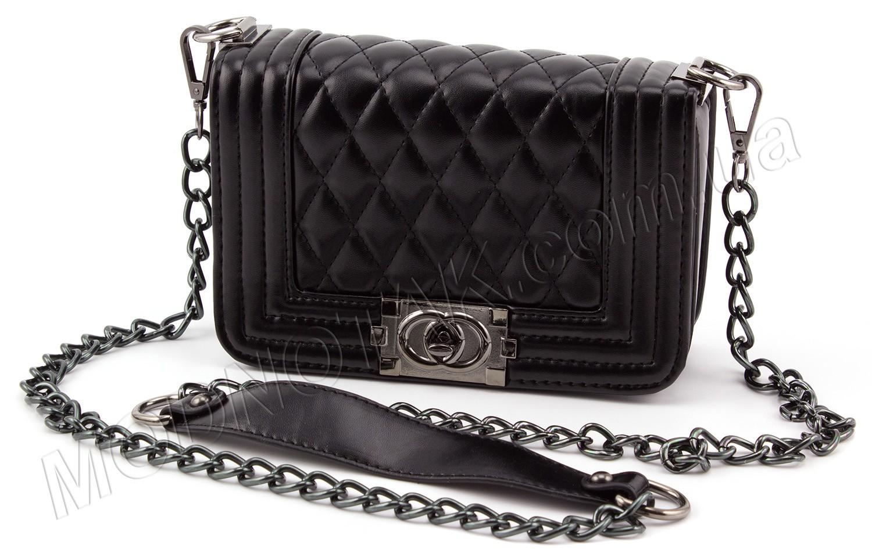 ... Маленькая женская сумочка на цепочке в стиле бренда Chanel (28052) ... aa64c191cb4