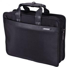 bf99d16353ea Мужская деловая текстильная сумка большой вместительности под ноутбук и  документы NUMANNI 392 (ПРЕМИУМ КАЧЕСТВО)