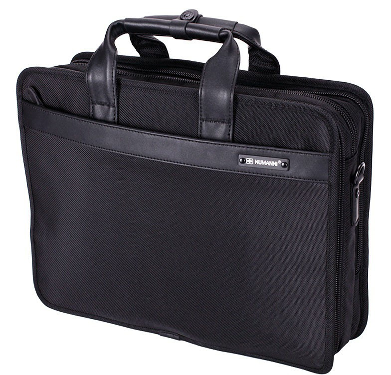 1ae352662cfe Мужская деловая текстильная сумка большой вместительности под ноутбук и  документы NUMANNI 392 (ПРЕМИУМ КАЧЕСТВО)