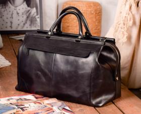 a8ed74c46fe3 Кожаные дорожные сумки женские саквояж купить по лучшей цене в MODNOTAK