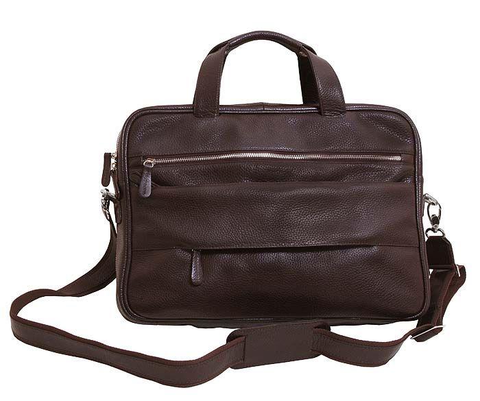 328592177b9a Кожаная элитная сумка для ноутбука 15,6 дюймов от VIP COLLECTION (0-2012
