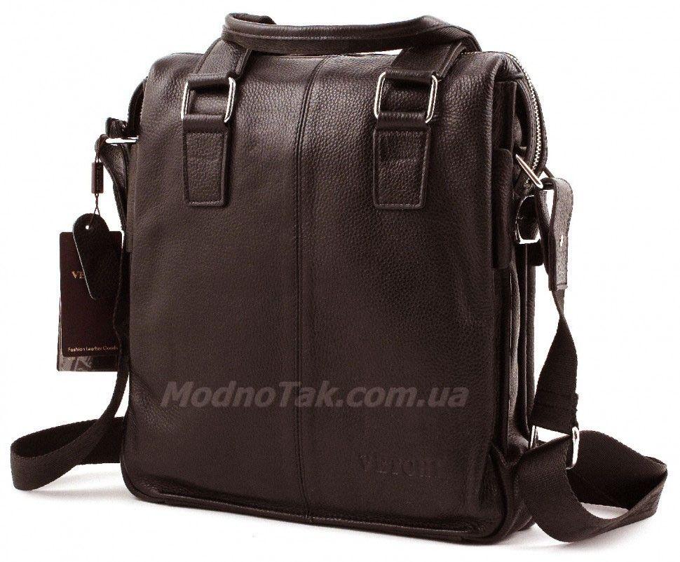 7f1df0c30ded Деловая мужская кожаная сумка вертикального типа с ручками – мужские ...