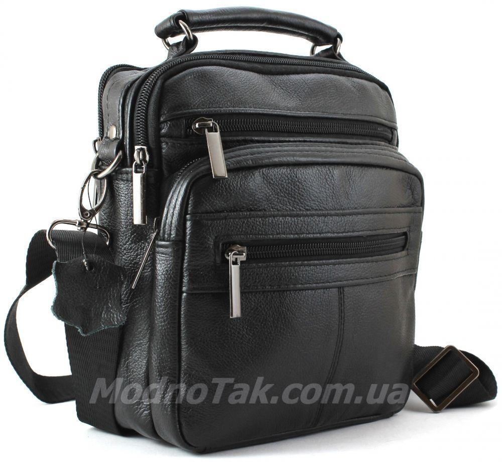 Кожаная мужская сумочка черного цвета Leather Bag Collection (10149) ... 7279741b86f24