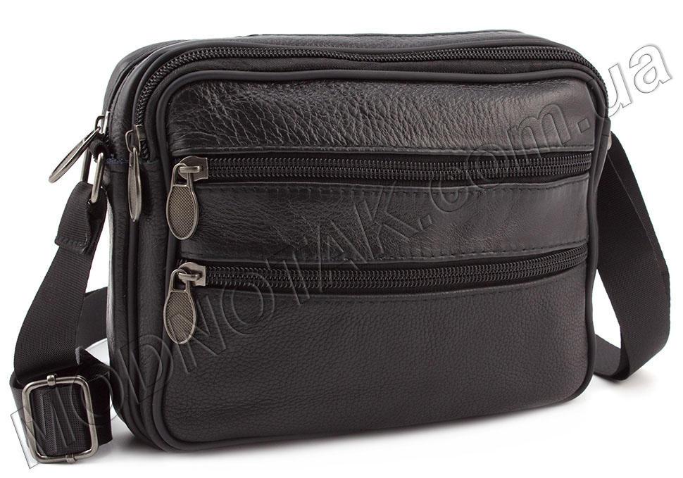 295b2661dca3 Мужская недорогая сумка из натуральной кожи Leather Collection (10150)