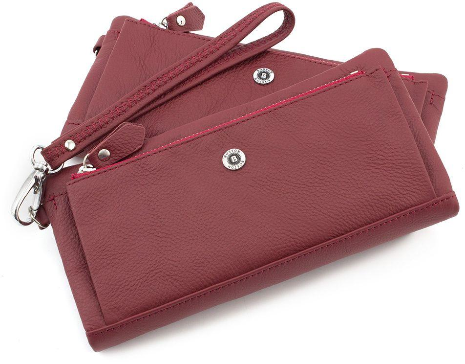 03297f16b80c Женский бордовый кошелек из натуральной кожи BOSTON (16058) купить в ...