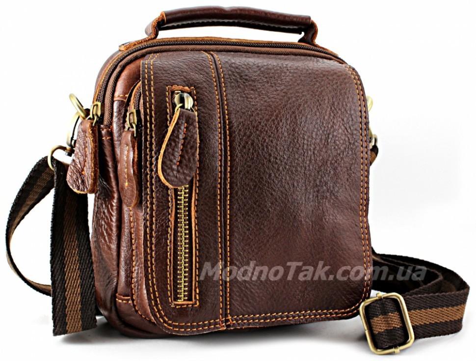 608099fed1c1 Коричневая кожаная мобильная мужская сумка производство Турция ...