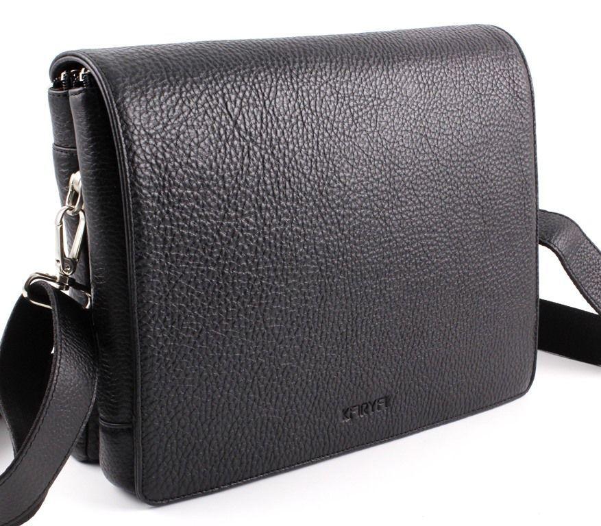 42a6ea9490a8 Турецкого производства мужская деловая сумка из натуральной кожи под А4  Karya (10269)