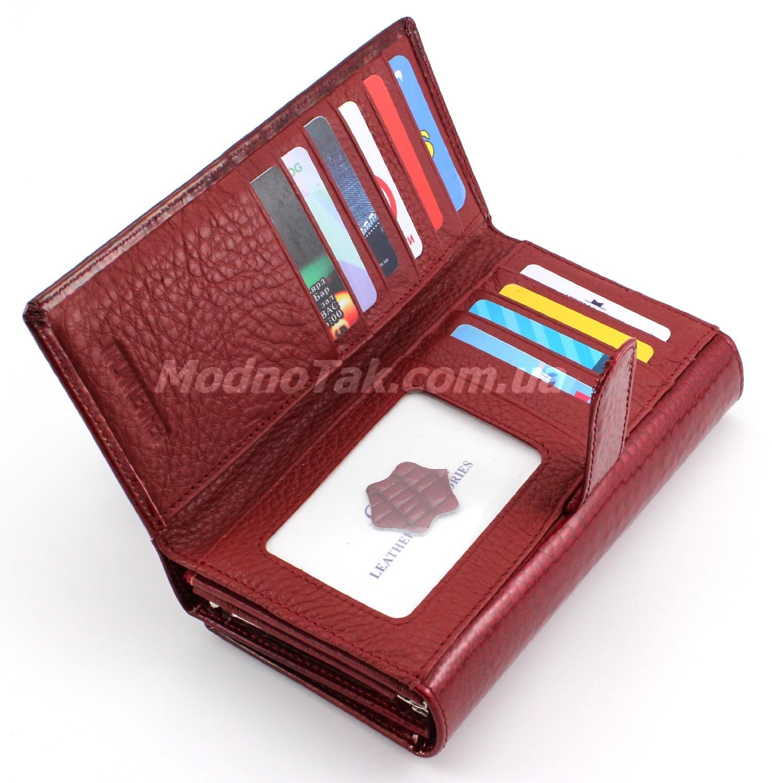... Кожаный женский лакированный кошелек под купюры и карточки ST Leather  Accessories (17085) ... 22e8c6e3930