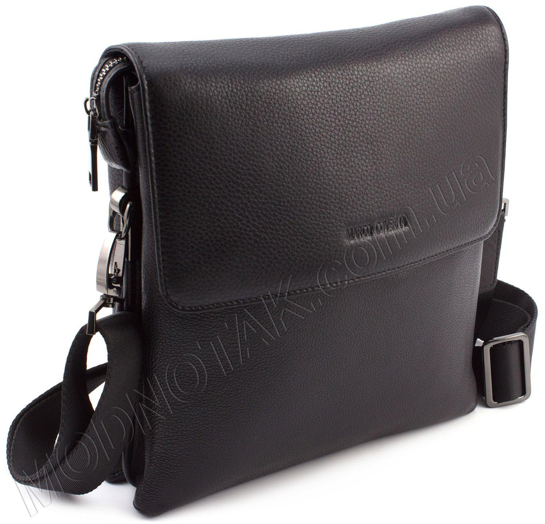 a88fcf180011 Повседневная мужская сумка с клапаном на магнитах Marco Coverna (11512)