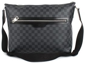 Мужская сумка Louis Vuitton Damier Graphite Mick MM N41106