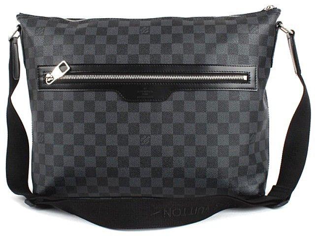 fd2fd7d8b38a Мужская сумка Louis Vuitton Damier Graphite Mick MM N41106 ...