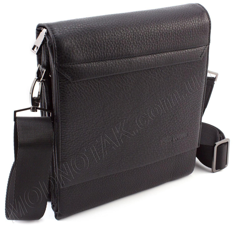 d1a84d0d8a84 Стильная наплечная сумка из качественной кожи с клапаном Marco Coverna  (11511)