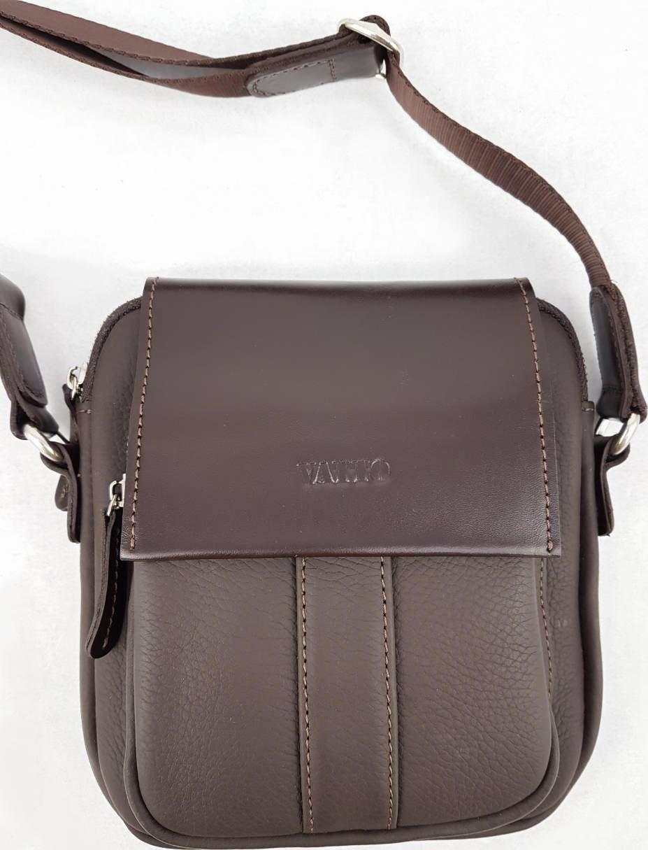 1265469b9f0d Сумка мужская маленькая коричневого цвета VATTO (11720) купить в ...