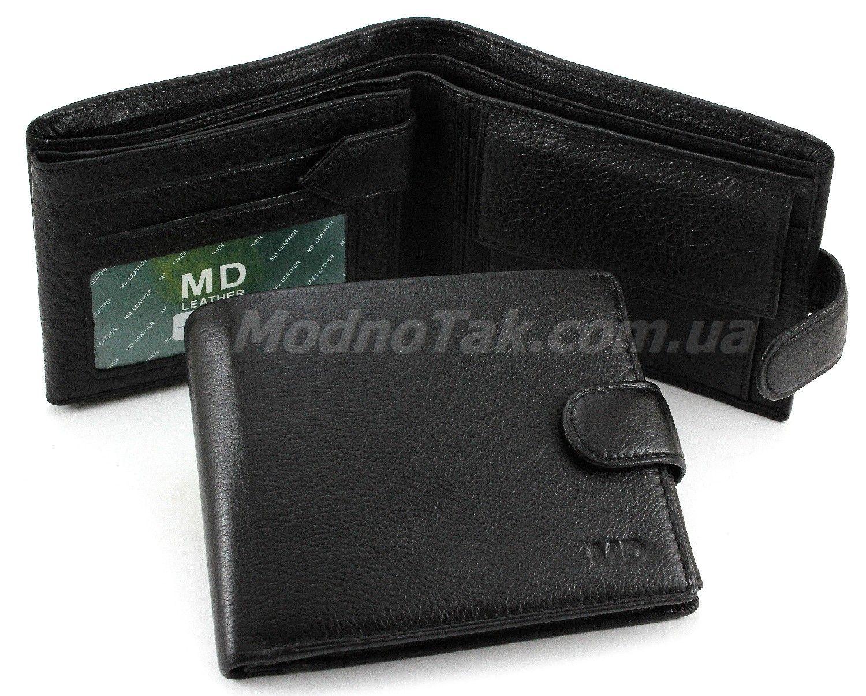 13c7e568a7a7 Кожаный мужской классический кошелек MD Leather Collection (18096)