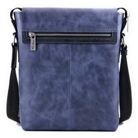 099d376fc69c Деловая синяя сумка синего цвета из выдвижными ручками - DESISAN ...