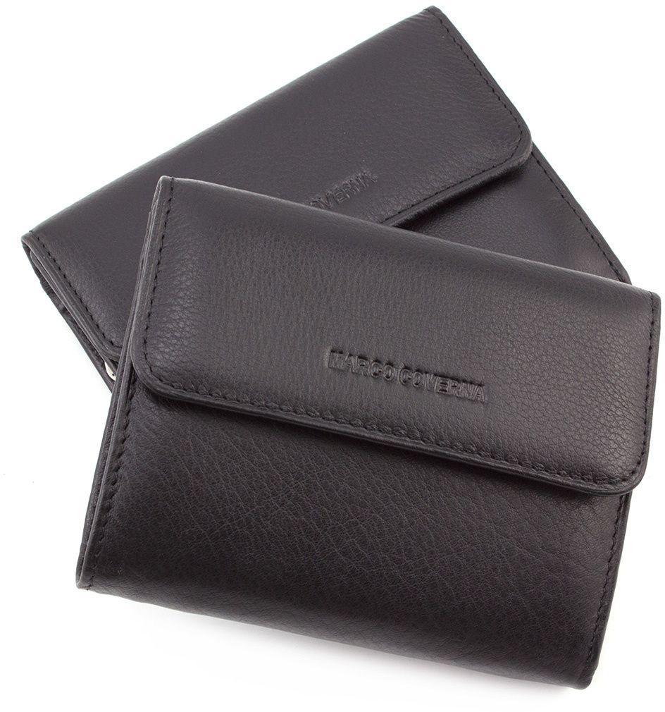 5afcad425c68 Женский кожаный маленький кошелек под карточки Marco Coverna (17177)
