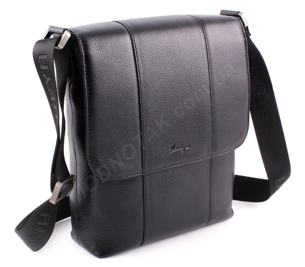 0c14a8d8c811 Кожаная мужская вертикальная сумка под А4 - кожаные мужские сумки ...