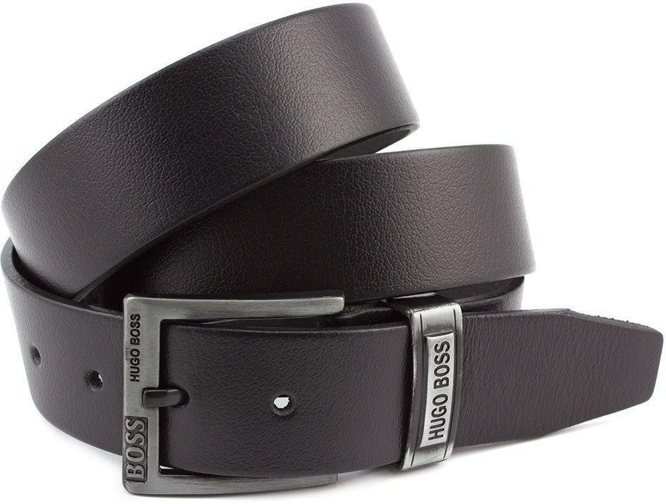 2a3e97780802 Джинсовый черный мужской ремень в стиле Hugo Boss (40143) купить в ...