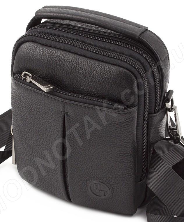 b5d9cfeeb3d5 Кожаная маленькая мужская сумка на пояс HT Leather - мужские кожаные ...