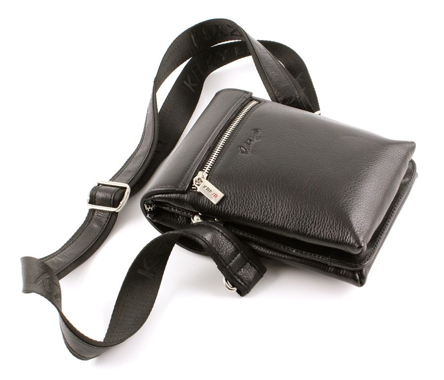 ... Эксклюзивная коричневая кожаная мужская маленькая сумочка Karya  (Турция) (10276) 4cd23c227b5