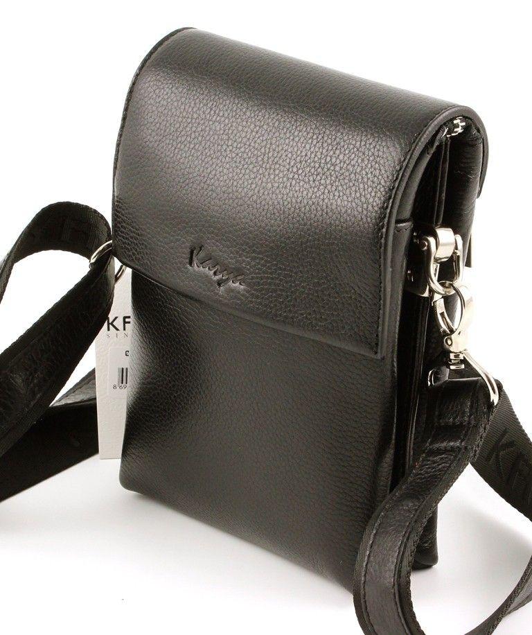 f71071e6a035 Эксклюзивная коричневая кожаная мужская маленькая сумочка Karya (Турция)  (10276)