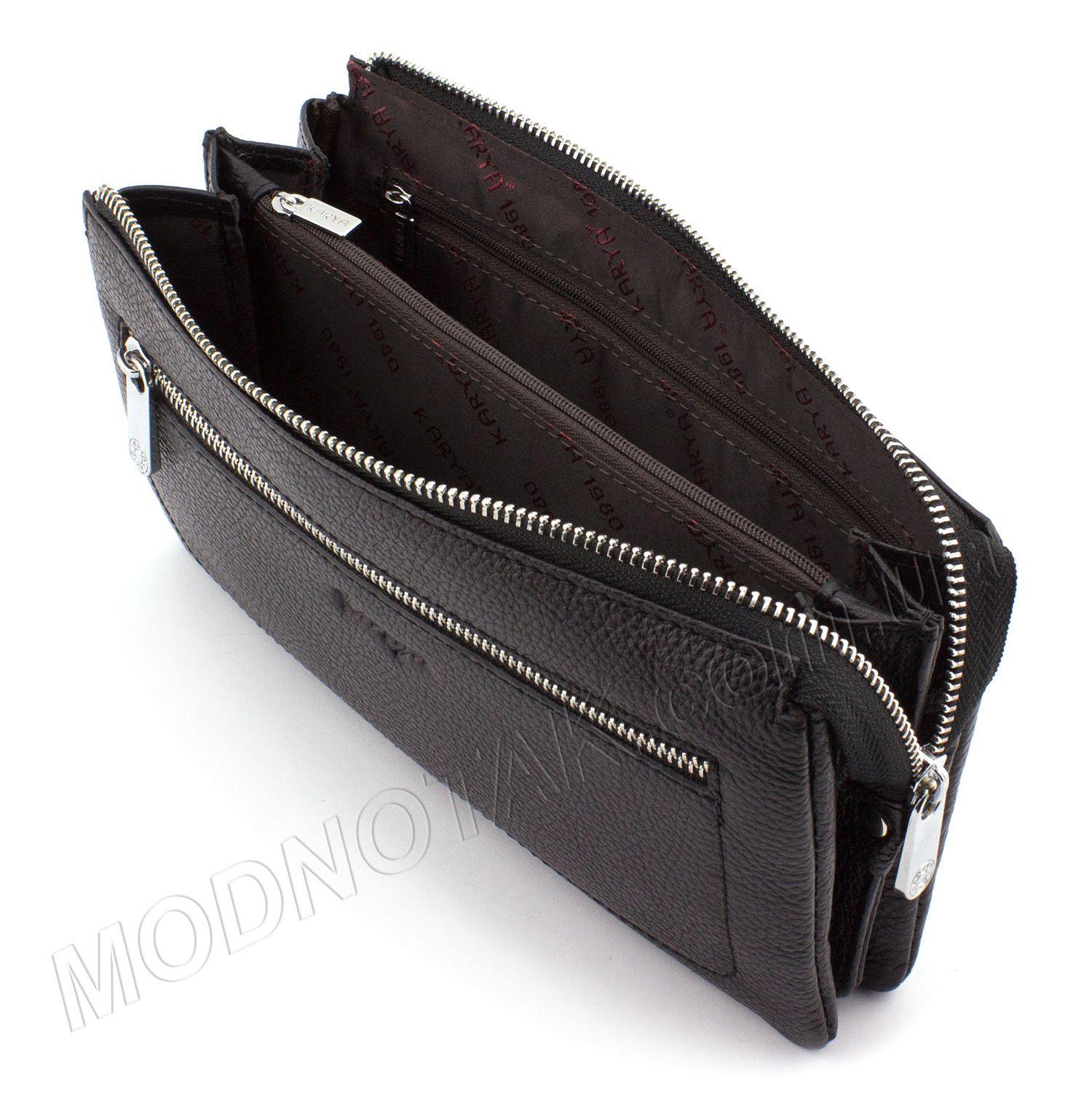 aa162c3b72c5 Купить брендовый клатч из кожи турецкого производства на молнии и с ...