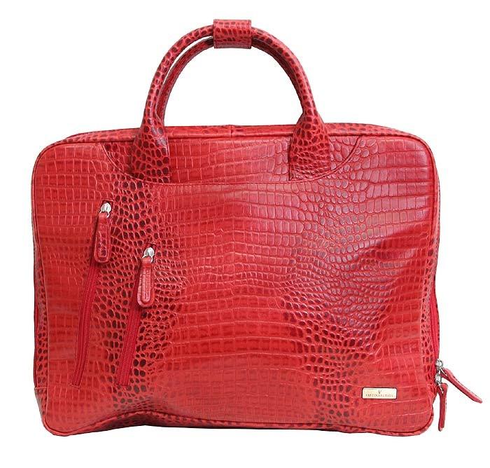 db79adef3083 Деловая женская кожаная сумка для документов и ноутбука 15 дюймов от VIP  COLLECTION (0-2029)