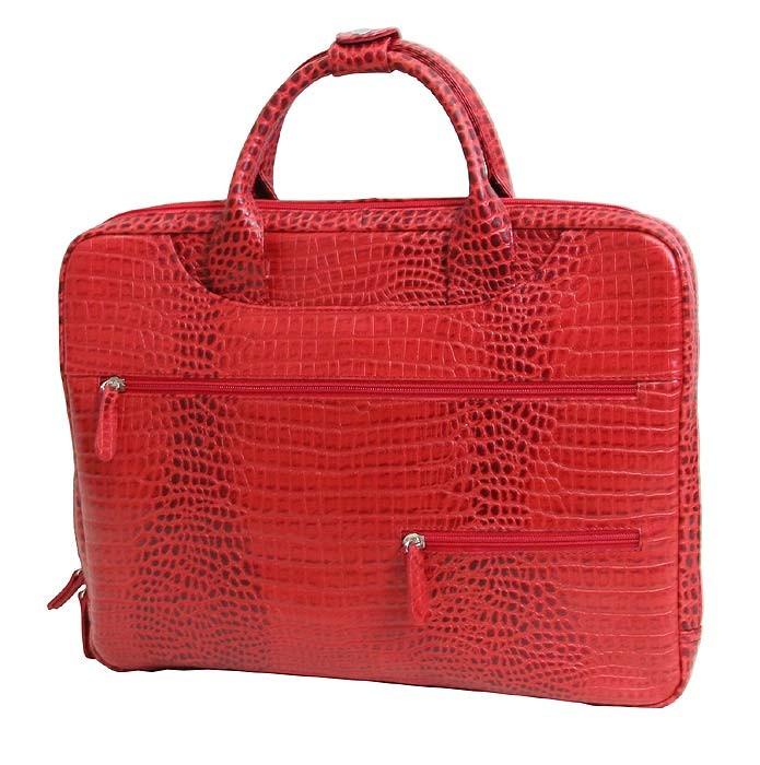 971d4451f106 Деловая женская кожаная сумка для документов и ноутбука 15 дюймов от VIP  COLLECTION (0-