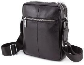 b6057e0d8edf ... Повседневная кожаная сумка на два отделения Marco Coverna (10431) - 2