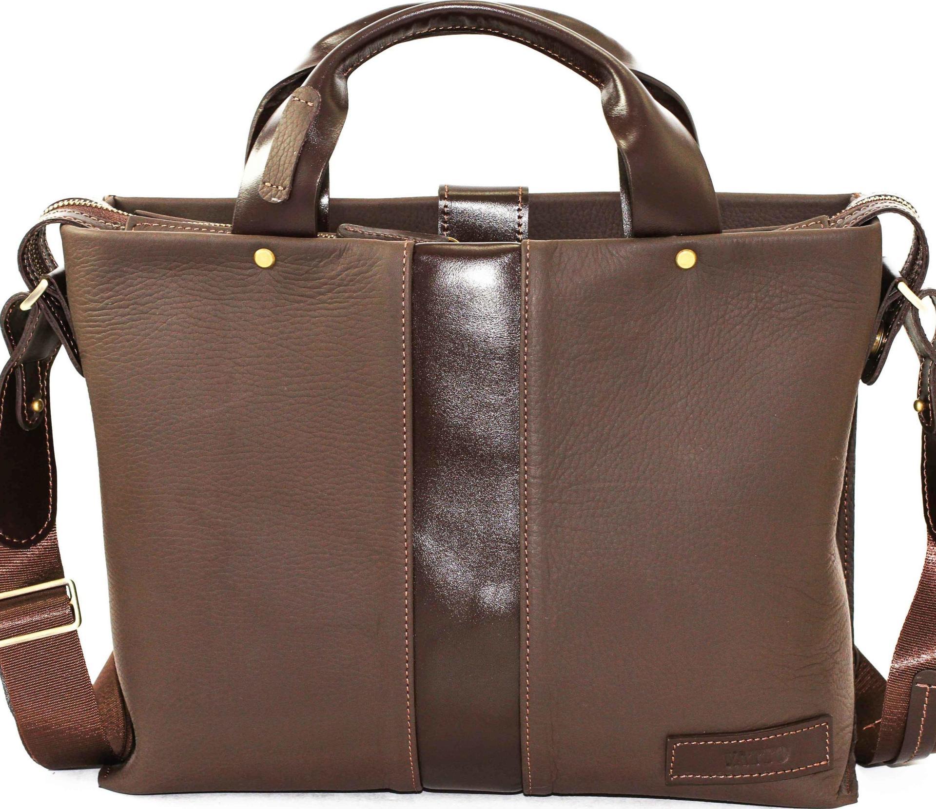 e0d786a785eb Стильная мужская сумка с ручками формата А4 VATTO (12030) купить в ...