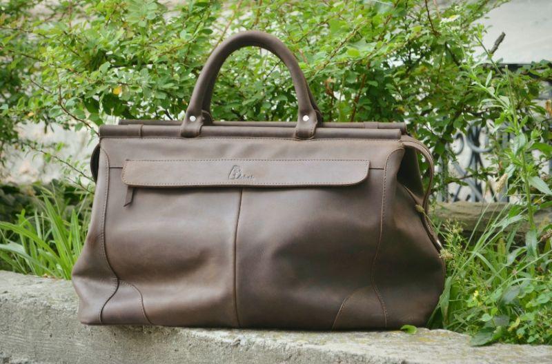 4bfe0a84deba Дорожная кожаная винтажная сумка - SB1995 (702351) - Кожаные ...