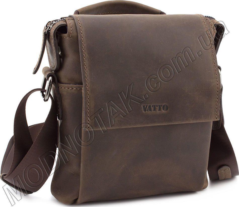 5d07cd0bdcd6 Стильная мужская сумка с ручкой для повседневных вещей VATTO (11628 ...