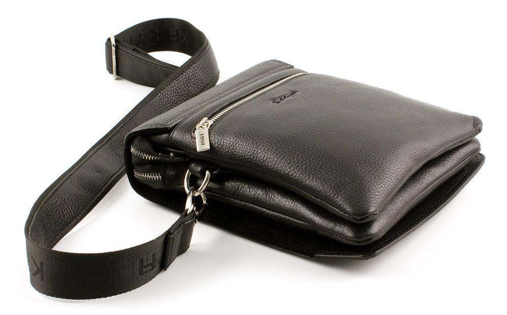 1da92994f02e Кожаная коричневая мужская сумка Karya - фирменные мужские сумки из ...