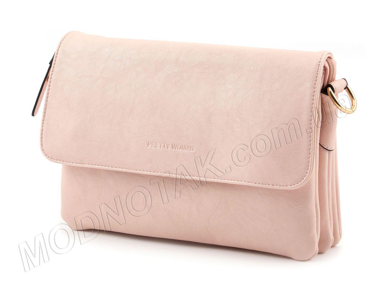 aa617e4319f2 Купить розовый женский клатч Pretty Woman: цены женских сумок в ...