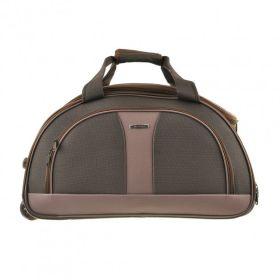 e837fac37333 Дорожная небольшая сумка с выдвижной ручкой MY TRAVEL (10611 Brown) 60х33х37